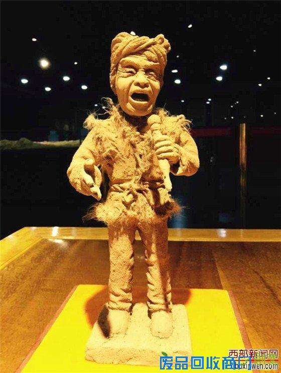 王文瑜泥塑作品欣赏
