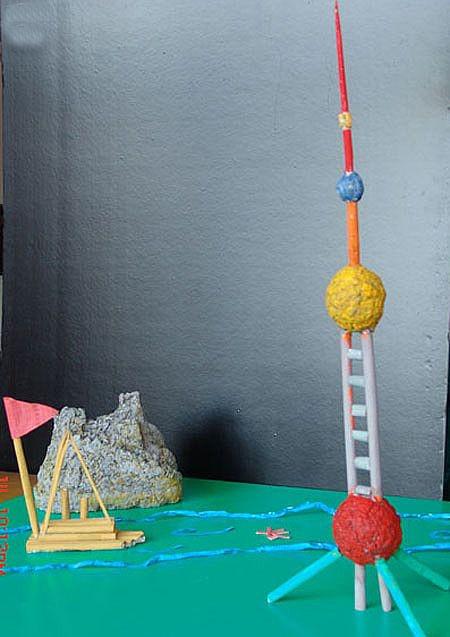 幼儿园工艺品和装饰及玩具手工diy制作教程图