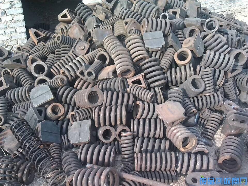 铁岭废旧弹簧钢回收